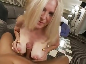 Classy adult woman is having a wonderful anal sex