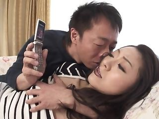 Appetizing chinese hotty gets wooly snatch frigged increased by played sex video
