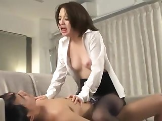 Great Japanese chick in Wild Cumshots, Blowjob/Fera JAV peel unique