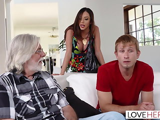 LoveHerFeet - Stepmom Wants My Cum Upstairs Her Wings