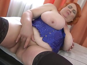 Big BBW mom with massive huge heart of hearts
