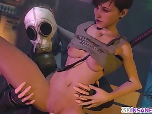 Big boobs lesbians with strapon gender doggystyle