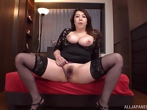 Premium nude unique by busty Kazama Yumi