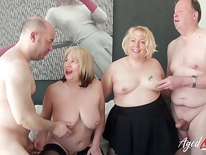 Lord it over mature ladies enjoying hard cock be beneficial to uninhibited horny guys