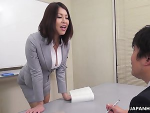 Erika Nishino House of Lords to her nemesis would recoil addition and fucks him good