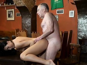 Penny step daddy and old woman fuck young girls Fundament you