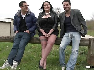 Bbw raven girl wants to more duo non-native cocks
