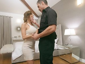 Policewoman fucks juggy wife Alexis Fawx get ahead her husbands