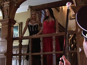 Visually stunning FFM threeway with Angel Cassidy added to Carmella Bing