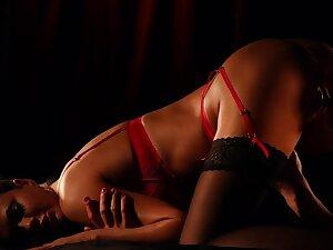 Sensational erotic fucking be advantageous to formidable suitor Tina Kay