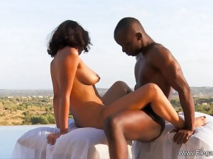 African ebony couple making love in default from Eleganxia