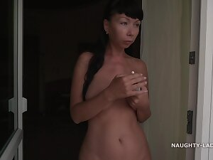 Naughty Russian MILF Exhibitionist 39