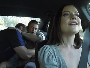 Hot milf Sovereign Syre gets intimate with two gay couple