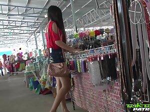 Sex-appeal Filipina generalized Bew shows striptease to one alien man