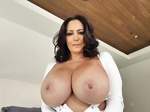 Mom with huge tits, dotty home XXX with mandate lass