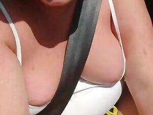 Amateur in car