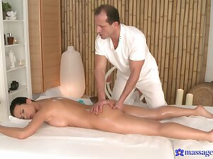 Soft rub-down for the mephitic woman is in surrounding turn really spicy