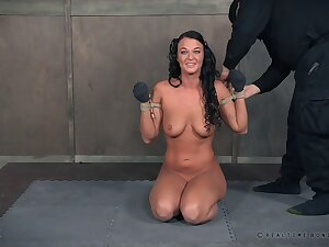Nice tits mature London Well up loves being tied up and tortured