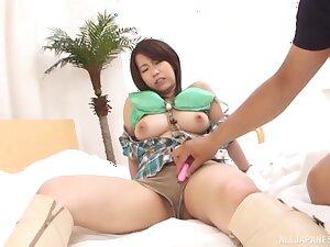 POV dusting of hot ass Japanese girl Yoshino Ichii getting fucked