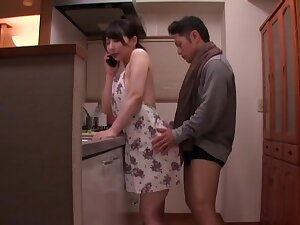 Intriguing home sex be fitting of a superb Japanese wife